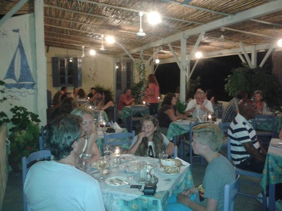 Lourdas Mare: Night at Lurdas Mare Taverna