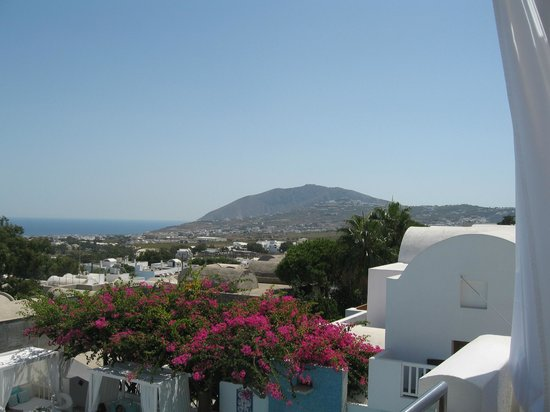 Aressana Spa Hotel and Suites: View looking south