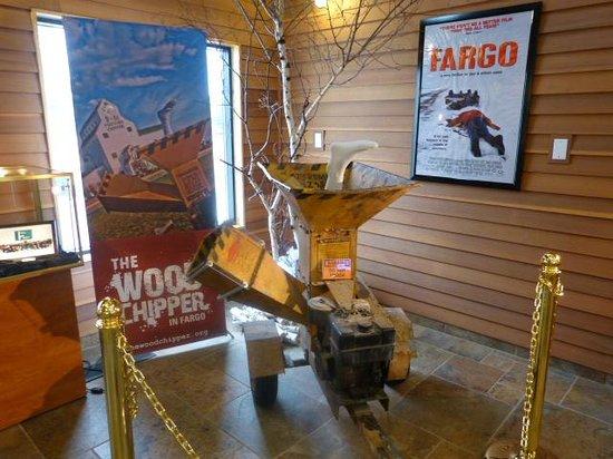 Fargo-Moorhead Visitors Center : The Woodchipper