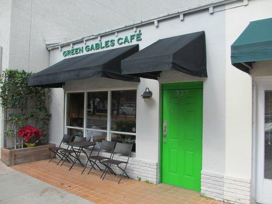 Green Cafe Coral Gables Menu