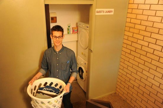Morwell Motel: Free Guest Laundry