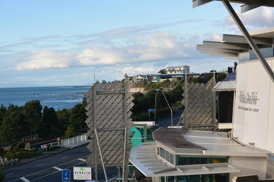 The Waterfront: View towards Puke Ariki