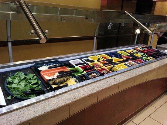 Astounding Salad Bar Picture Of Grand Buffet Hinckley Tripadvisor Interior Design Ideas Gresisoteloinfo