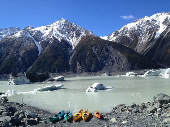Southern Alps Guiding: Start of the trip