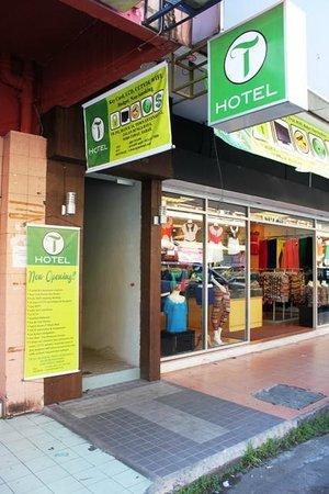 T Hotel : Entrance