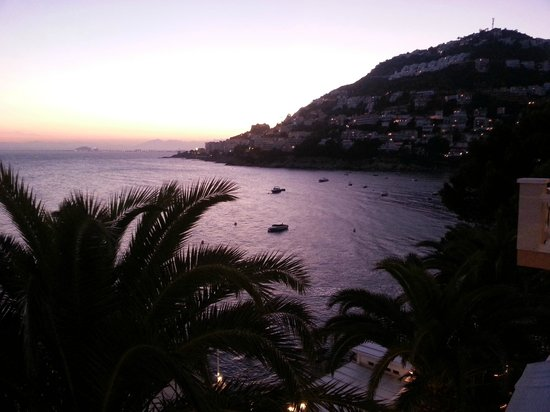 Vistabella: evening from our room