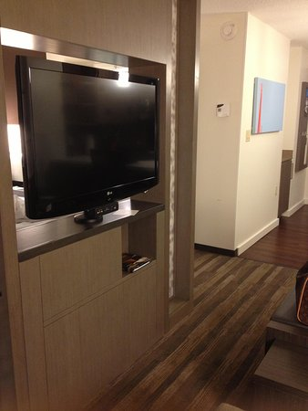 HYATT house Atlanta/Cobb Galleria: Nice size TV with all channels
