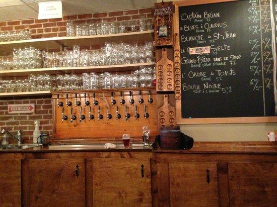 Lagabiere: The Main Bar, very original!