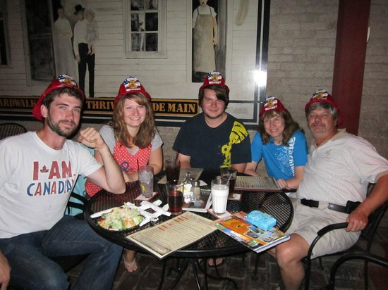 Firehouse Brewing Co.: Loved the hats!