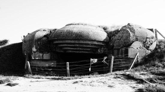 Longues Battery: Battery at Longues Su Mer