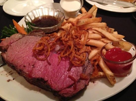 Chinook's Seafood Grill : Prime Rib - Huge!!