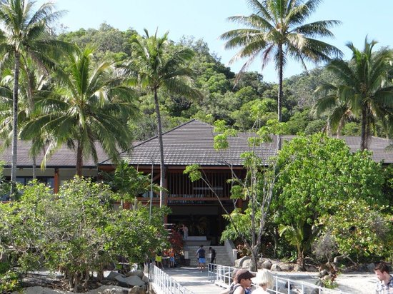 Fitzroy Island Resort: The Entrance