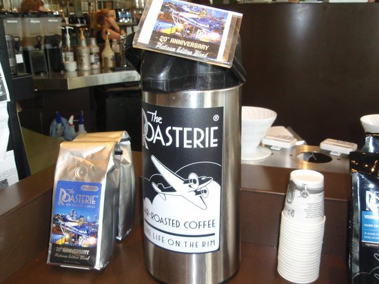 The Roasterie Factory & Retail Store: Sampling area