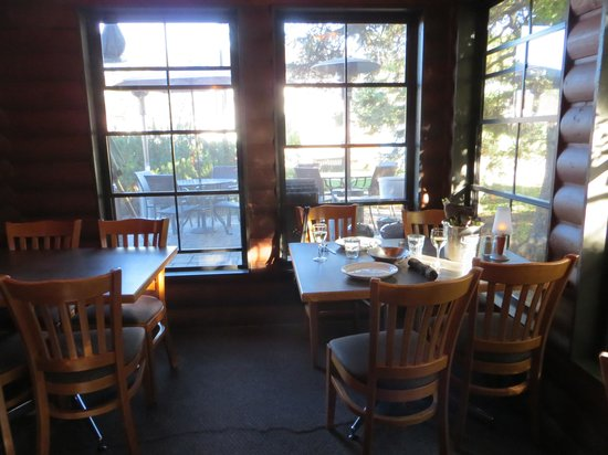 T R McKoy's: Our table