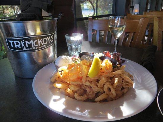 T R McKoy's: Calamari appetizer