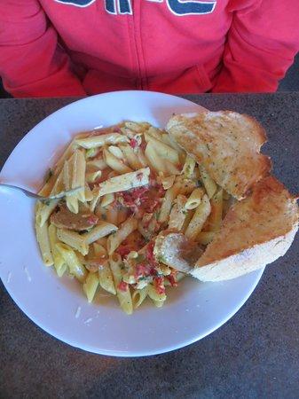 T R McKoy's: Pasta dish