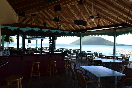 Pusser's Marina Cay Restaurant: beutiful location