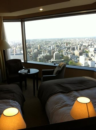 JR Tower Hotel Nikko Sapporo: 部屋からの眺め