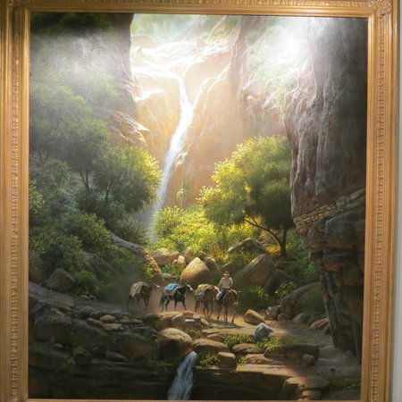 Leanin' Tree Museum of Western Art: Canyon Passage by Bill Hughes
