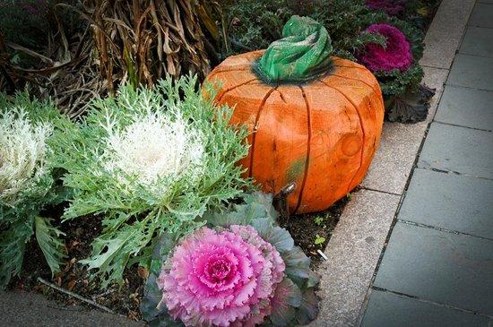 Palmer House Inn: Autumn decorations in Falmouth.