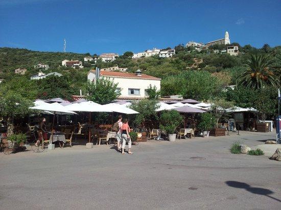 U Rasaghiu: La terrasse