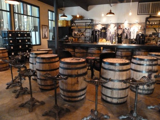 Stranahan's Colorado Whiskey Tour: The tasting room