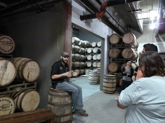 Stranahan's Colorado Whiskey Tour: Aging of the wiskey Smells Great!