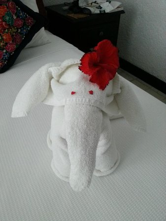 Casa Sirena Hotel: Towels :)