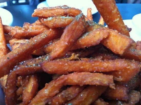 Native Foods Cafe: Crispy Native Sweet Potato Fries