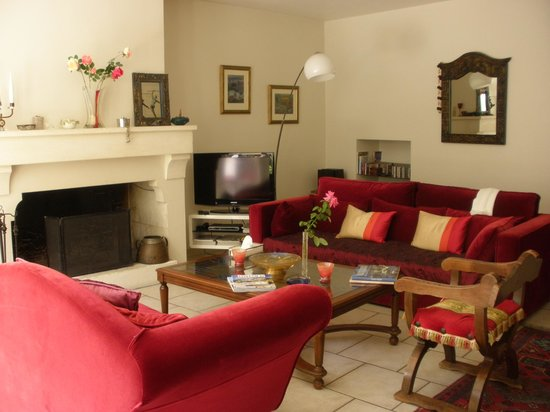 Le Clos du Rempart : The lovely living area available to guests