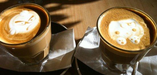 Penelope: Latte art