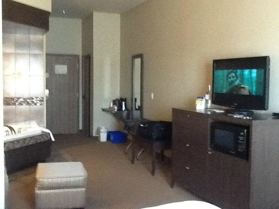 Best Western Plus Dartmouth Hotel & Suites : TV and room towards entrance