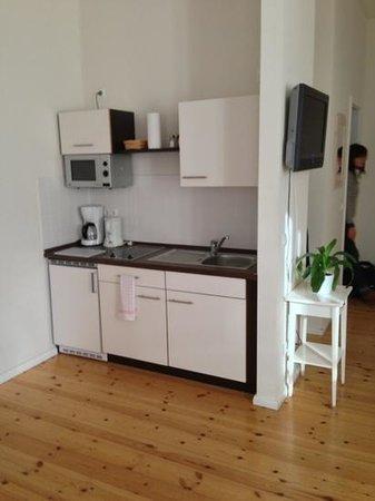 Schoenhouse Apartments : Room 110 ('Senior I') kitchen