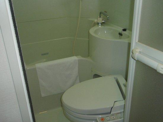 Super Hotel Lohas JR Nara-eki: バス・トイレ・洗面台