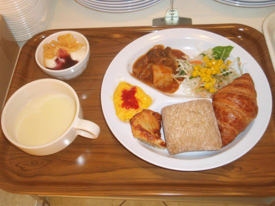 Super Hotel Lohas JR Nara-eki: 洋風朝食