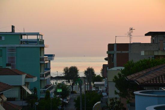 Hotel Mary Fleur : Panorama al tramonto