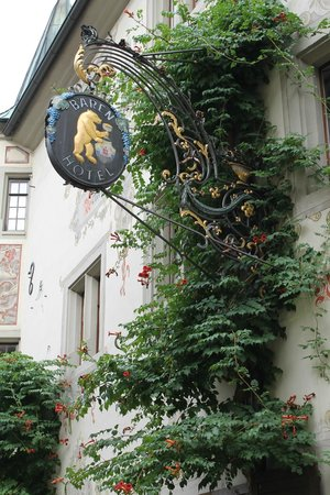 Gasthof zum Bären: insegna dell'hotel