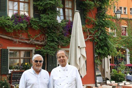 Gasthof zum Bären: con il proprietario Herr Michael Gilowski
