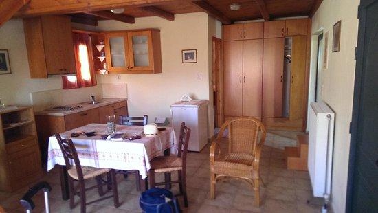 Nana Apartments : Cuisine