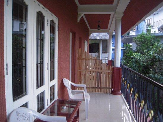 Kerala House : The Balcony
