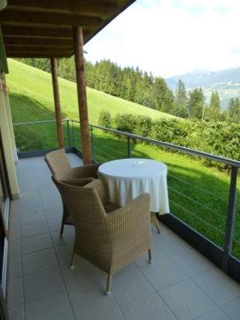 Alpin Panorama Hotel Hubertus : Balkon Panoramazimmer