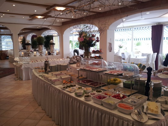 KOLLERs Hotel: Le petit déjeuner