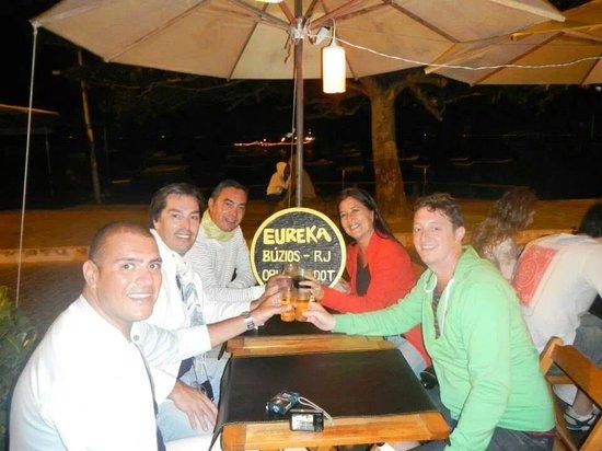 Eureka Pizza : noche de amigos en Eureka