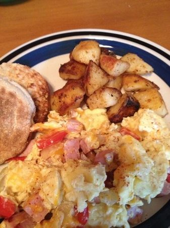 The Young House Bed and Breakfast: western egg scramble