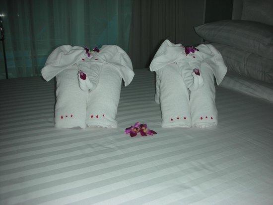 Samui Resotel Beach Resort: Fresh towels daily