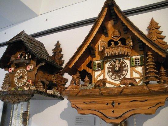 Deutsches Uhrenmuseum: Sezione dei cù-cù