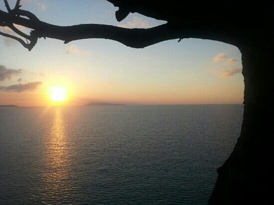 Panorama Restaurant and 7th Heaven Cafe: Amazing sunset