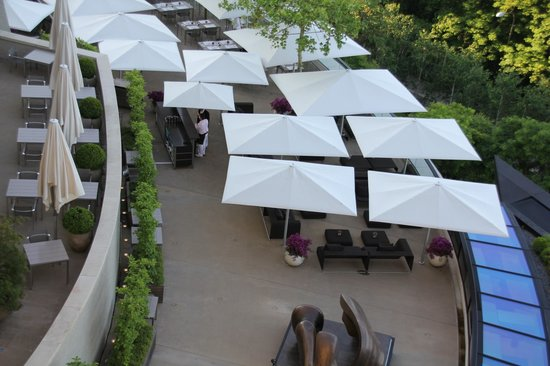 The Dolder Grand: Do not miss taking lunch on the terrace.
