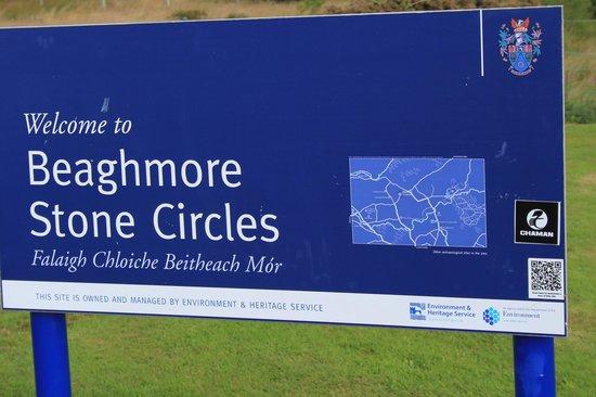 Beaghmore Stone Circles: Etwas weg von den Hauptrouten