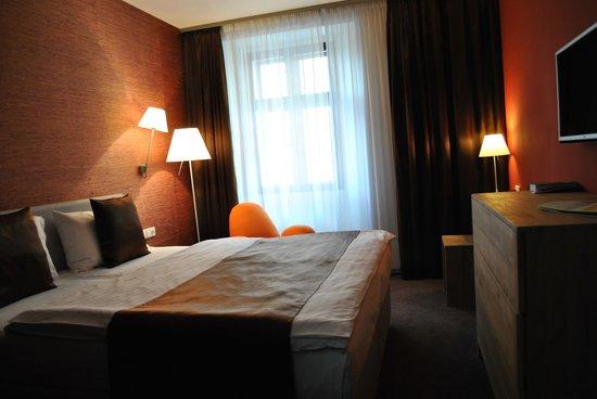Hotel Restaurant Darwin : Chambre à coucher n° 9